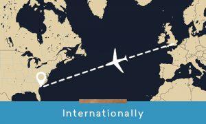 how to get to kiawah internationally