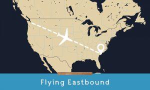 get to kiawah flying eastbound