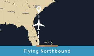 how to get to kiawah flying northbound