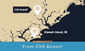 get to kiawah from chs airport