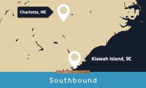 traveling southbound to kiawah