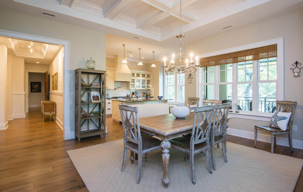 """Foyer Open To Dining Room : """"i just adore a penthouse view kiawah island real estate"""