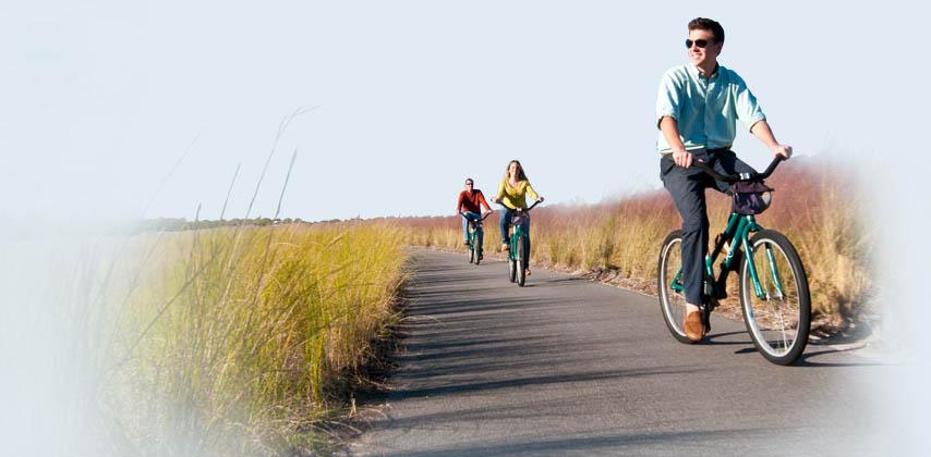 Biking on Kiawah Island