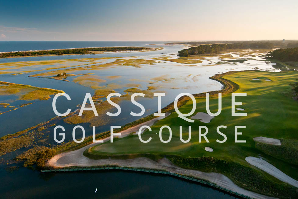 Aerial view of Cassique Golf Course