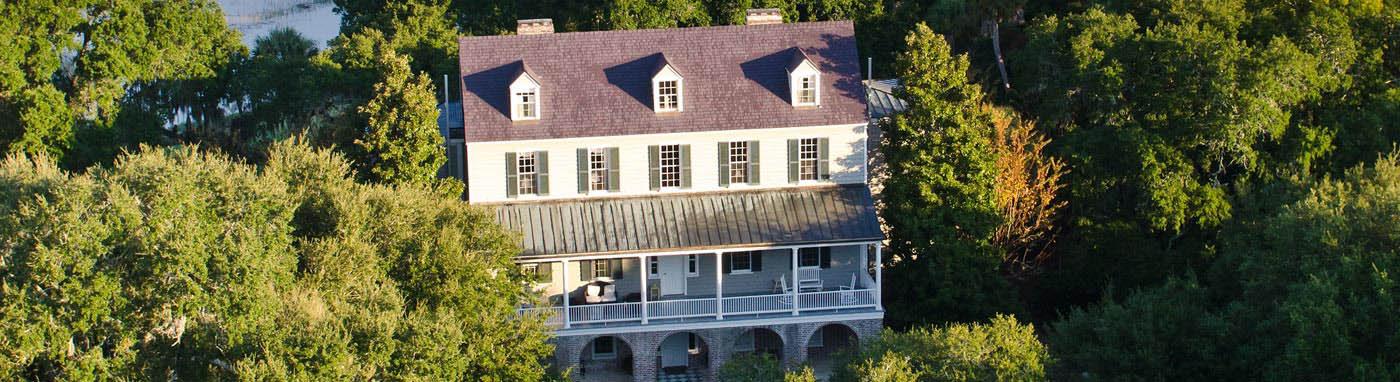 Kiawah Island historic Vanderhorst home