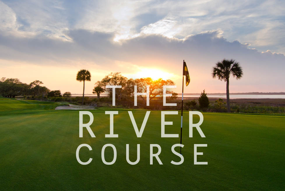 The River Course at Sunset