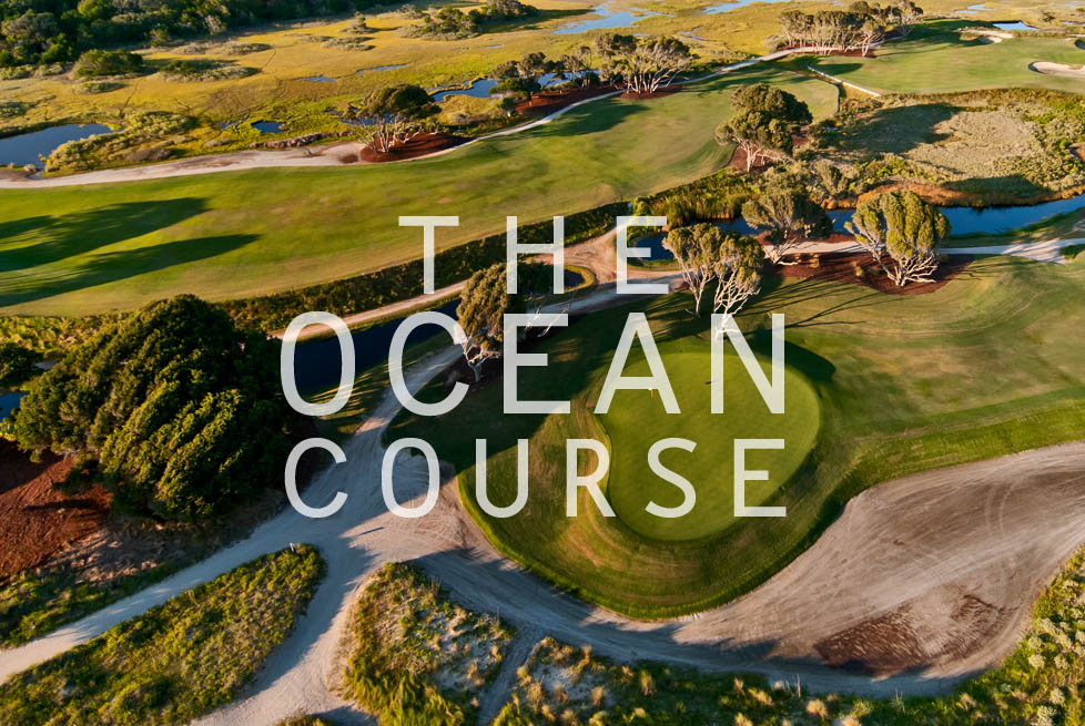 Aerial View of the Ocean Course on Kiawah Island