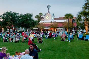 Outdoor event venues on Kiawah Island