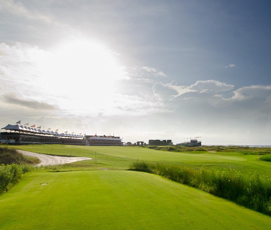 PGA Championship Grandstands at Kiawah Island