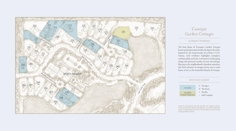 Garden Cottages Siteplan