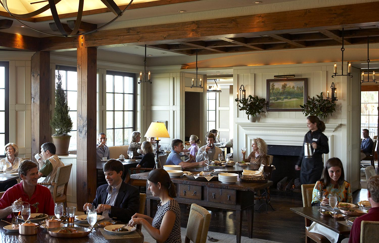 Cassique Clubhouse with a menu inspired by Kiawah Island Club consulting chef Tom Colicchio of BravoTV's Top Chef fame