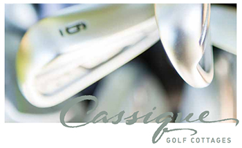 Brochure about Cassique Golf Cottages on Kiawah Island SC
