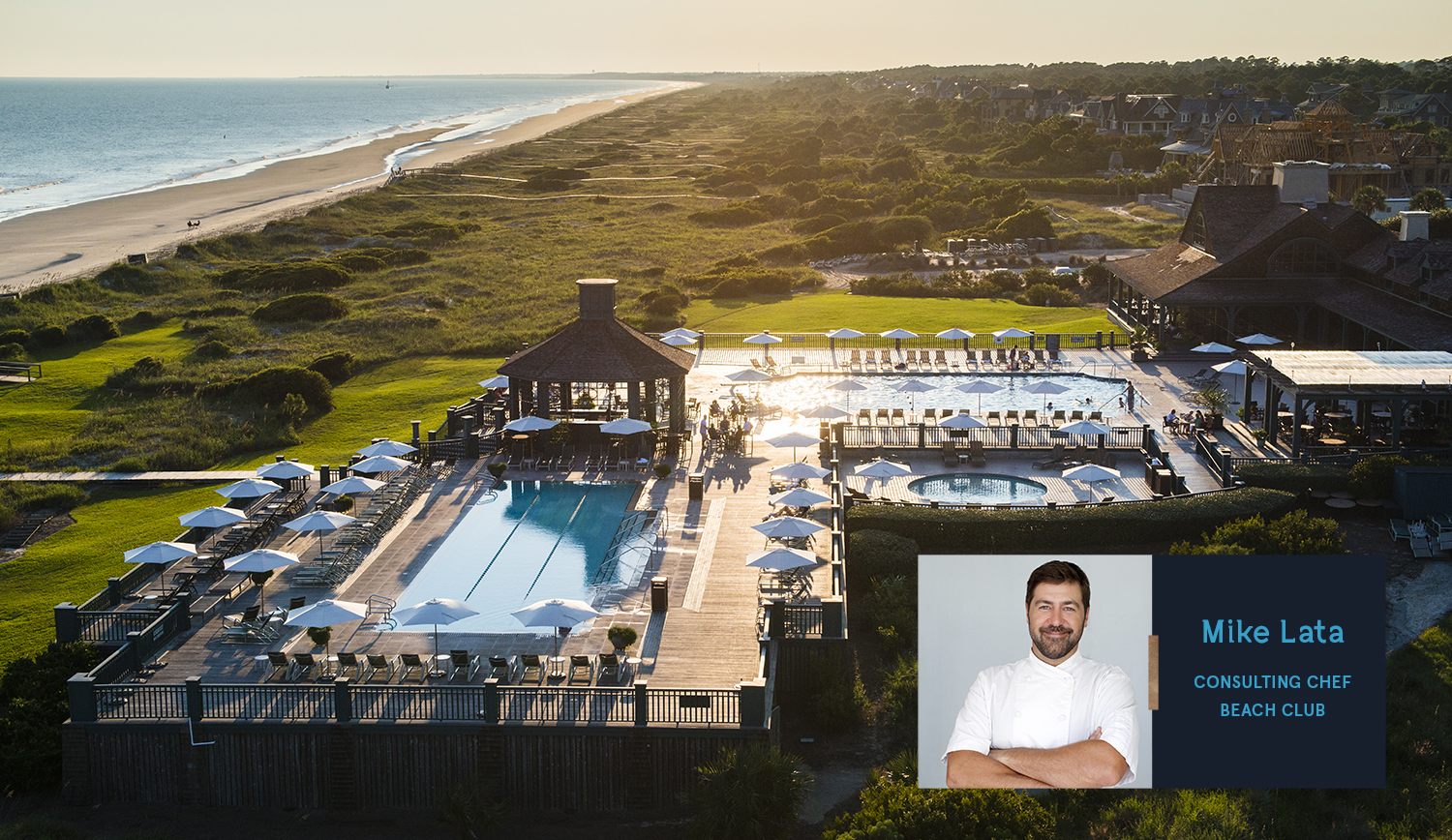 New Kiawah Island Club consulting chef honored—again