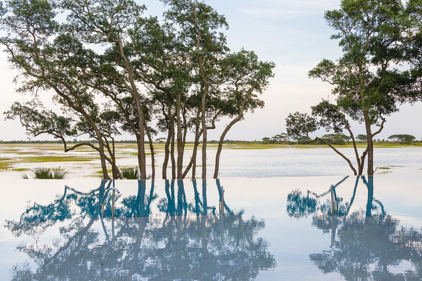 Marsh House Infinity Pool