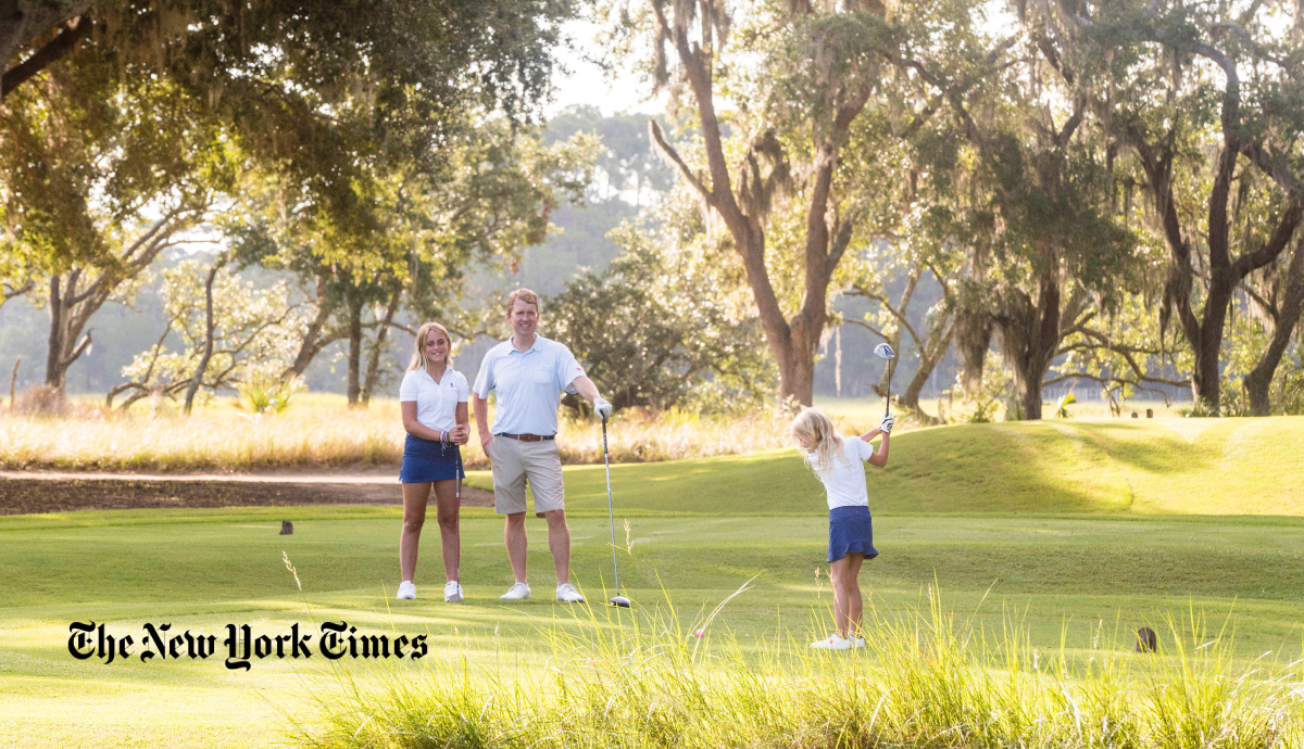PRESS: Kiawah, Master Developer Featured in New York Times For Exceptional Golf Communities