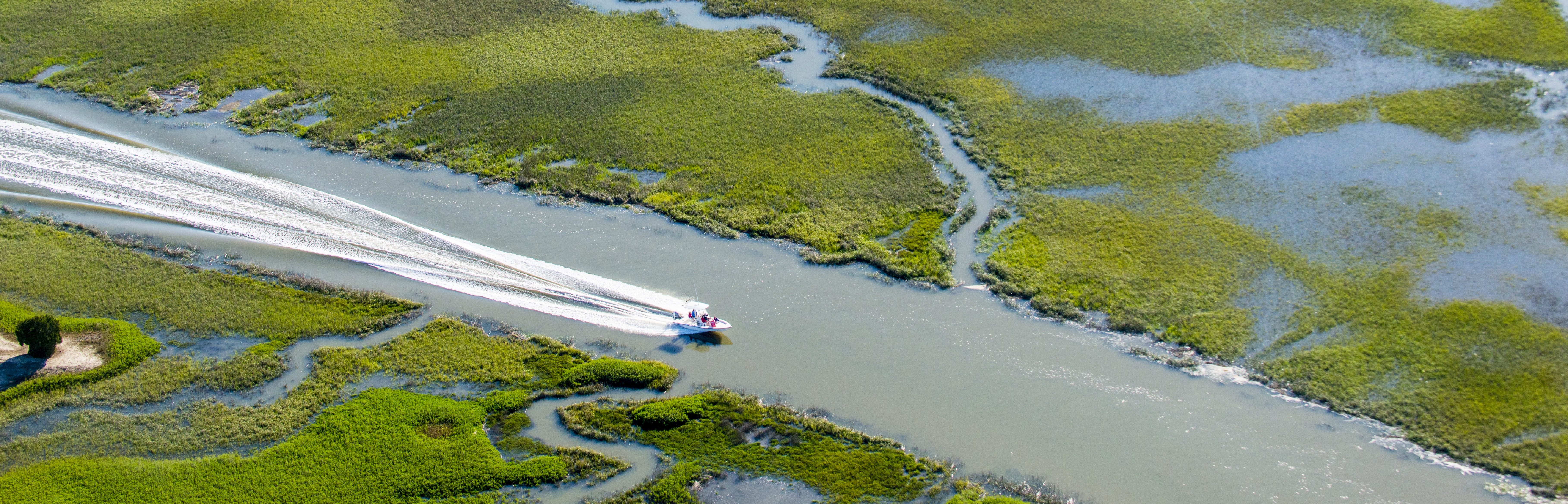 Summer Boating on Kiawah Island