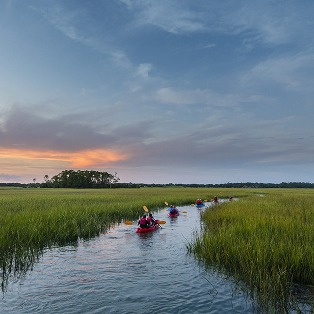 Legends At Charleston Park: Kiawah Island Outdoor Exploration