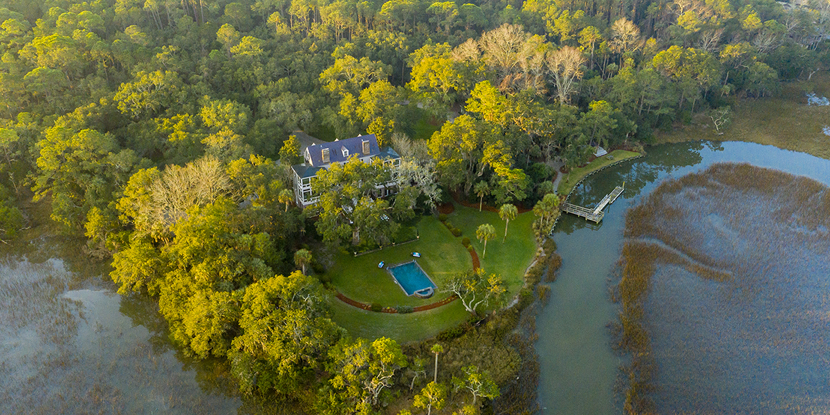 PRESS: Kiawah Island Real Estate Lists Historic Estate