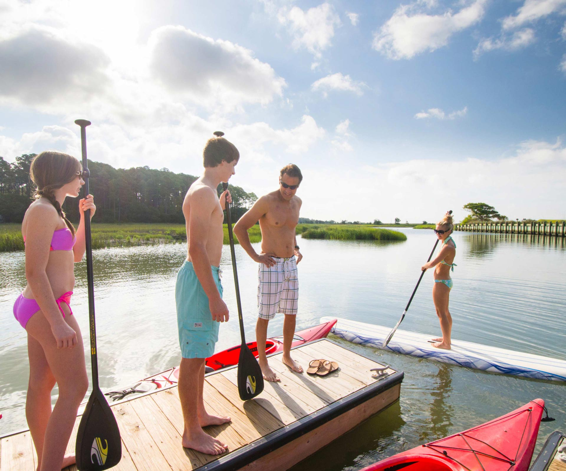 The Island Life - Outdoor Activities