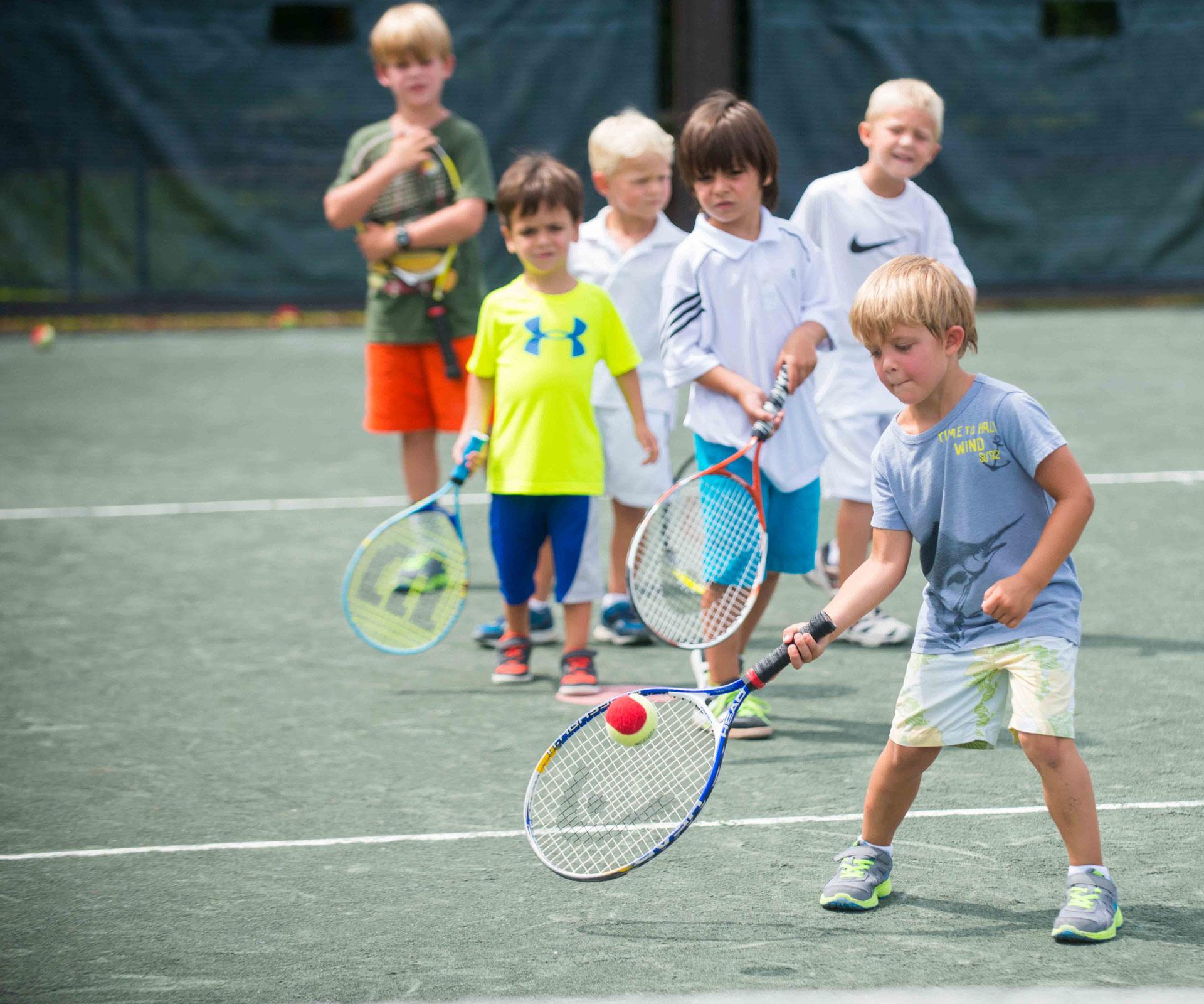 The Island Life - Tennis