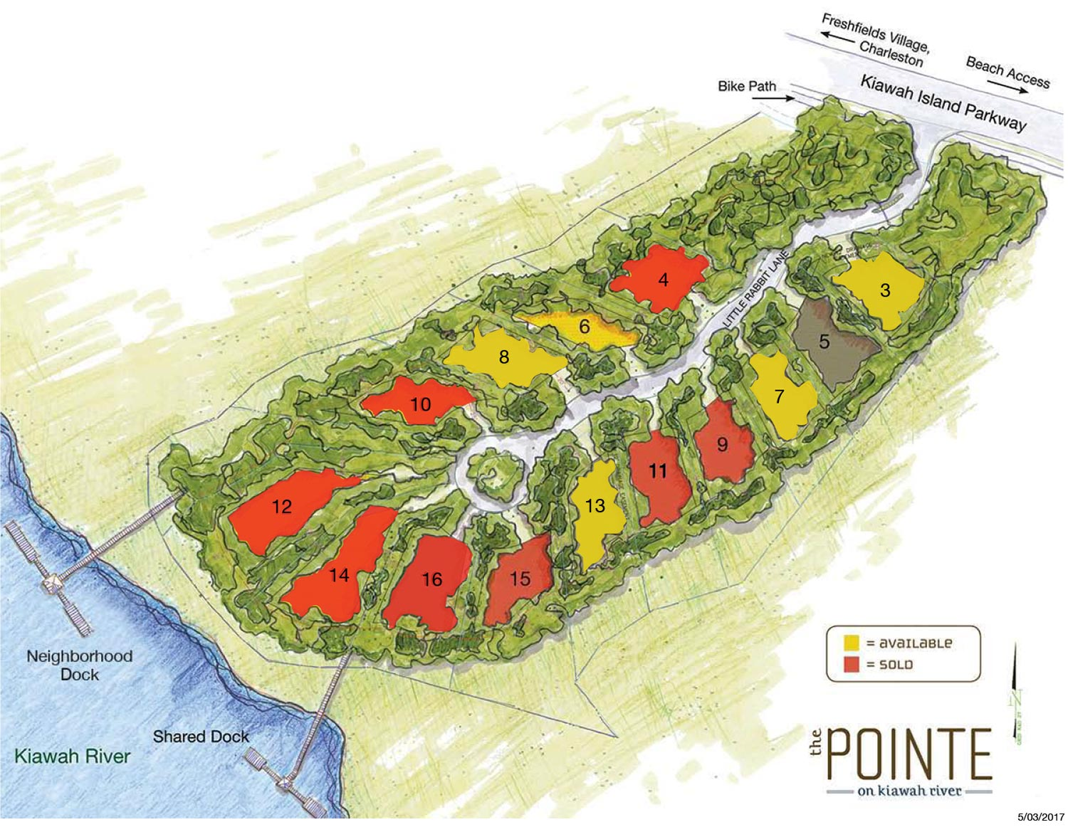The Pointe site plan