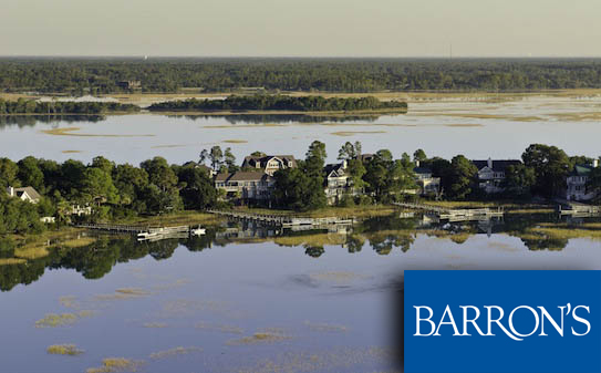 Kiawah Island distinguished by Barron's PENTA