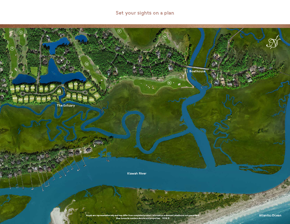 the estuary site plan