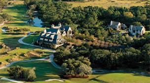Aerial View of Cassique Golf Course