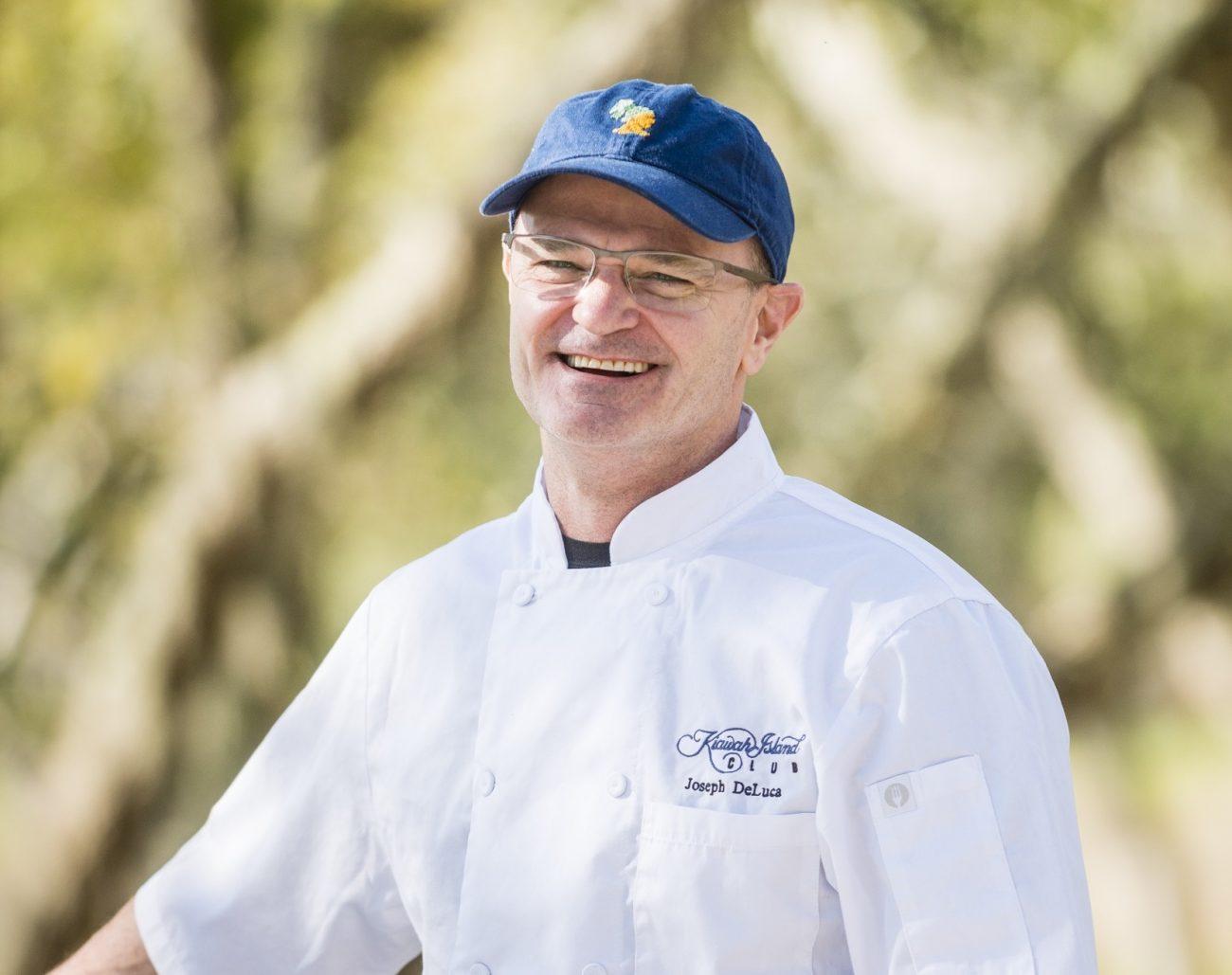 Meet the Chefs of Kiawah Island: Chef DeLuca