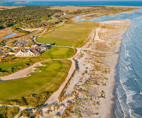 Aerial View of Ocean Course