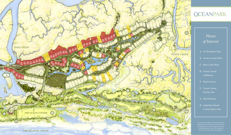 Ocean Park site plan